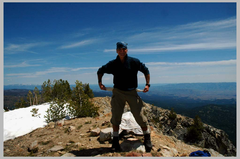 CLIFF CREGO | FIELDWORK on Cornucopia Peak, Looking for Gold!